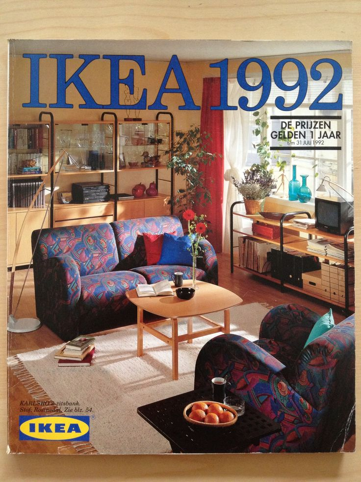 Ikea Catalogue 1992 For The Home Pinterest
