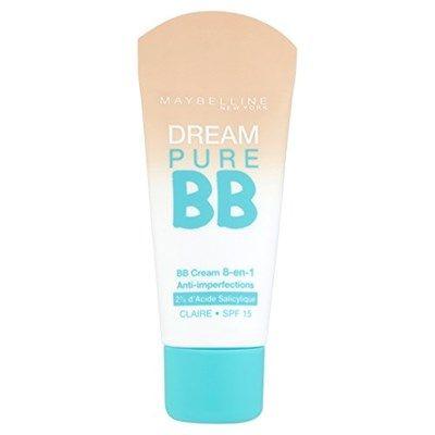 Chollo en Amazon España: Crema facial Maybelline Dream Pure BB por solo 5,96€ (un 34% de descuento sobre el precio anterior y precio mínimo histórico)