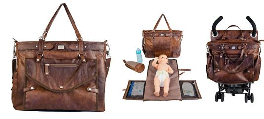 Cici Wickeltasche aus der Kategorie Leder und Lederimitat von Mamarella - Details