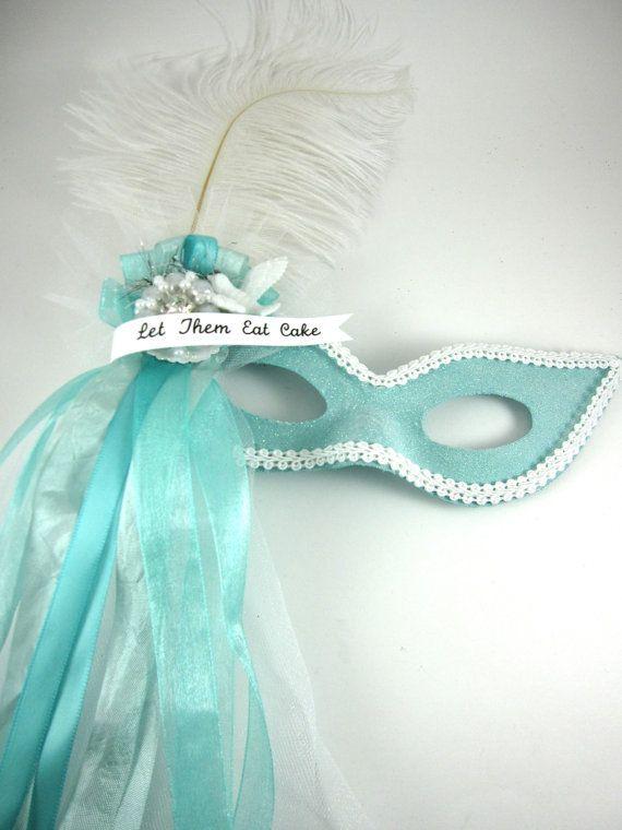 Sweet Marie Antoinette Masquerade Mask  by SparkleLovesWhimsey, $25.00