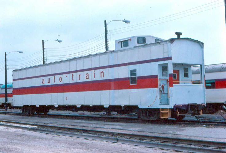 Auto-Train Caboose.....unique....
