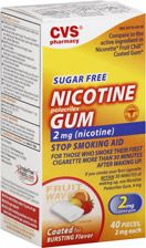 Shop online for CVS Nicotine Gum 2 mg Fruit Coated at CVS.COM. Find Nicotine Gum and other Stop Smoking products at CVS.