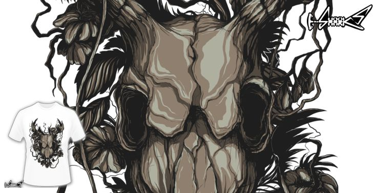 T-shirts - Design: In The Woods - by: Lou Patrick Mackay