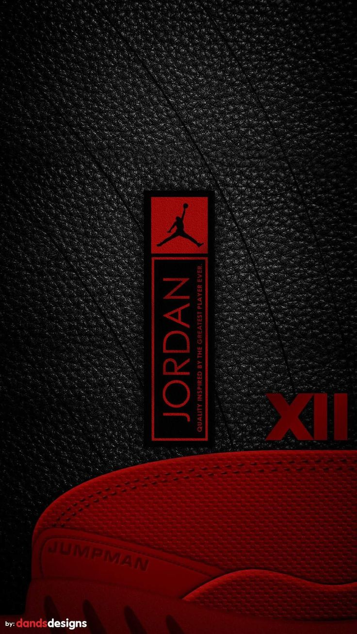 Wallpaper iphone black red - Iphone 7 Jordans Texture