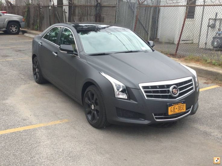 Dipped My New Cadillac Ats Dark Anthracite Dipyourcar