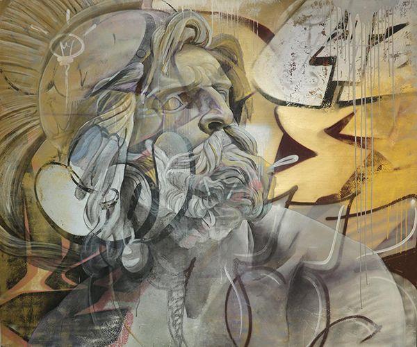 Best Street Art Images On Pinterest Street Art D Street - Beautiful giant murals greek gods pichi avo