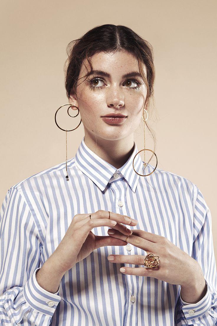 Daniela Salcedo ad campaign shot by Andrea Swarz, styled by Claudia Rojas, makeup by Alex Sepulveda, Model Antonia Prieto