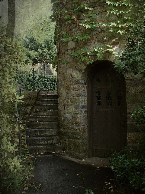 Castle Tower Entrance, Worcester, Massachusetts