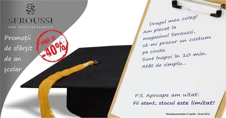 Promotii pentru absolventi de toate varstele!