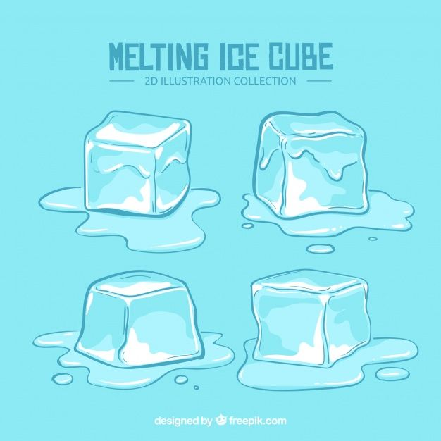 19+ Melting ice cube clipart info