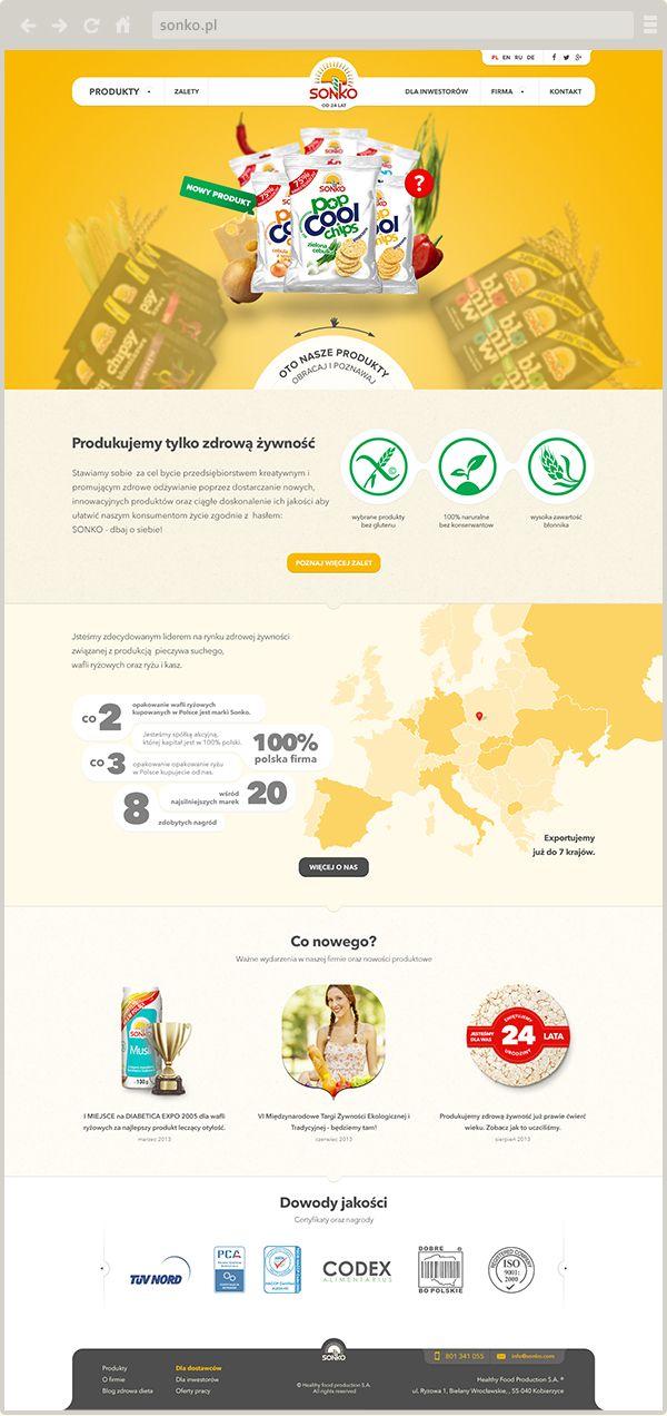sonko.pl - new website design