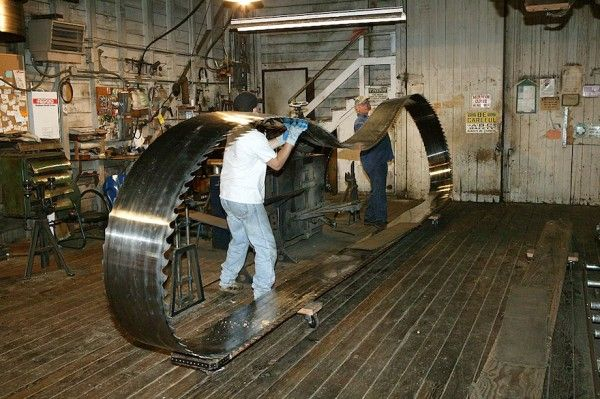 Almost like the ones we had a work, it was always fun changing the band saw blades