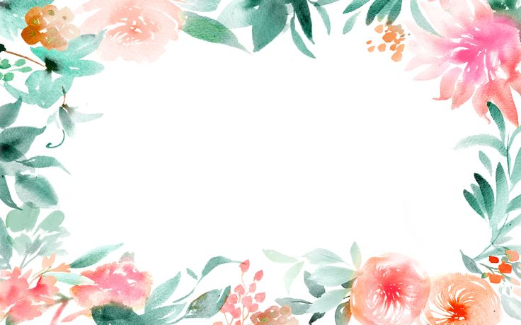 WatercolorFloralBorder_by_JulieSongInk1.jpg 1,856×1,161 pixeles