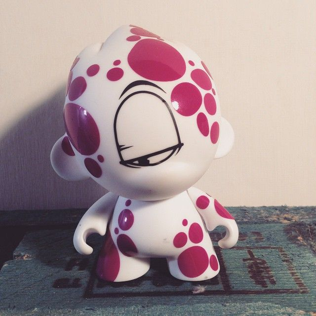 My work on urban toys. #kidrobot #character #fluidowear Custom