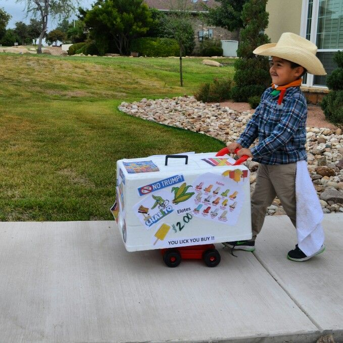 paletas mexican ice cream man no trump halloween costume - 2017 Men Halloween Costume Ideas