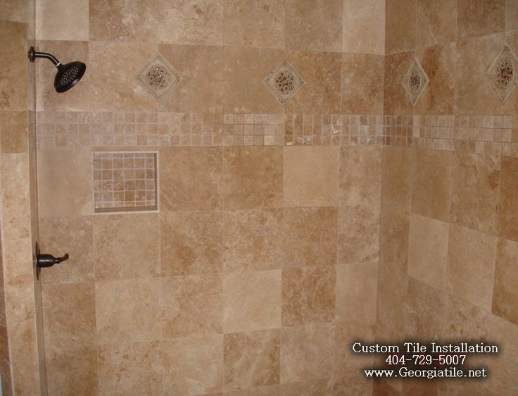 Tile Shower Ideas Tub Shower Travertine Shower Ideas