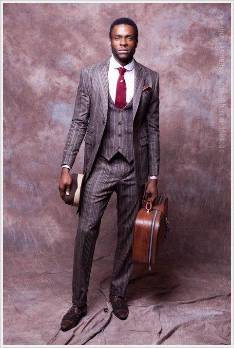 Nigerian Designer McMeka Introduces Suave 'Work Hard Play Hard' Menswear Collection | FashionGHANA.com (100% African Fashion)FashionGHANA.com (100% African Fashion)