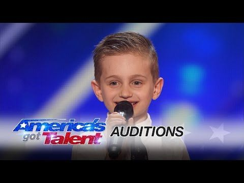 The 6-year-old funny kid impresses the judges and audience with his silly brand of comedy.