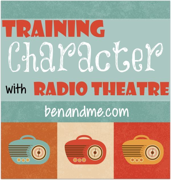 Radio theatre (also called radio drama or audio drama) is a great way to add character training to your home. Great for all ages and lots of amazing discussion.
