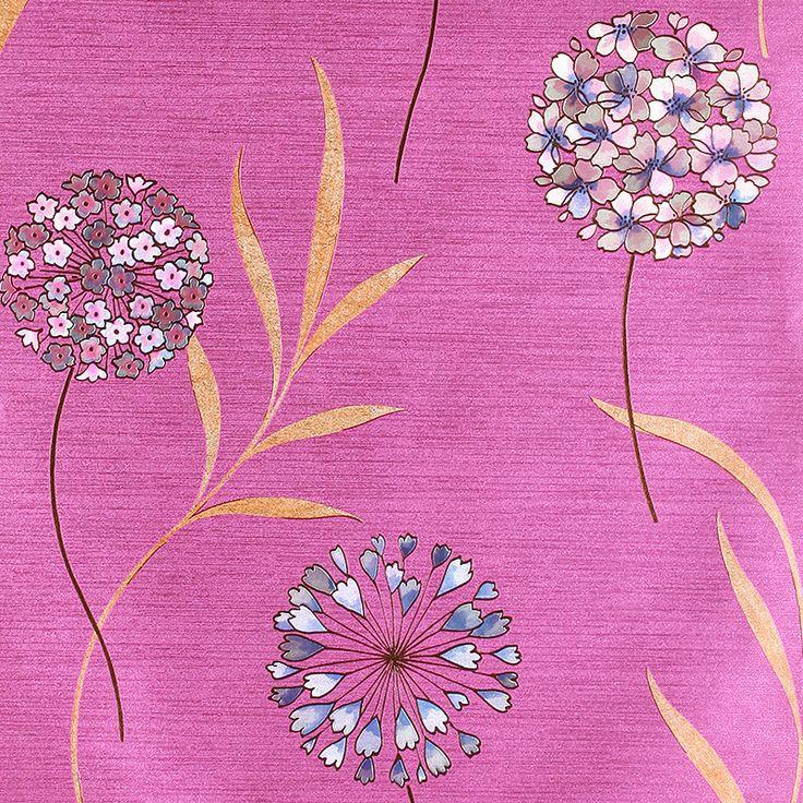 Modern Children Room Flower Wallpaper Kids Pvc Vinyl Pink 3d Flower Wallpaper 3d Wall Murals Wallpaper Kids Papel De Parede
