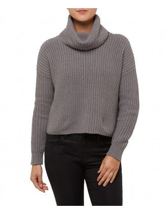 CHUNKY ROLL NECK CROP