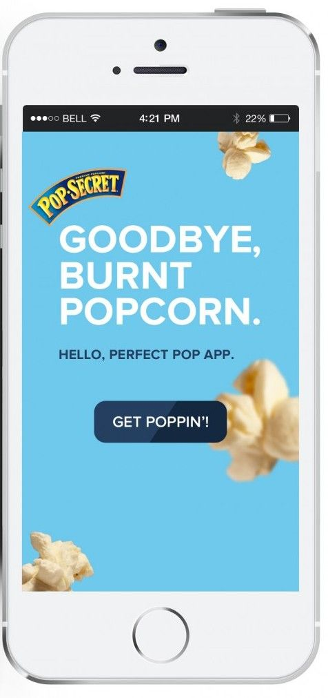 This free app is so cool!  Kids and adults alike, will find it enthralling.  Pop Secret Perfect Pop App #popcorn
