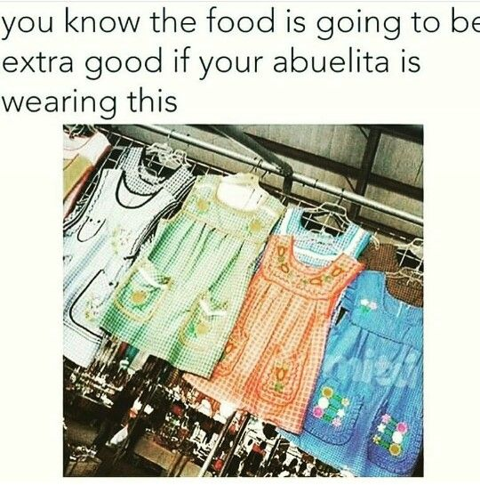 Growing up Mexican, Mexican food, humor