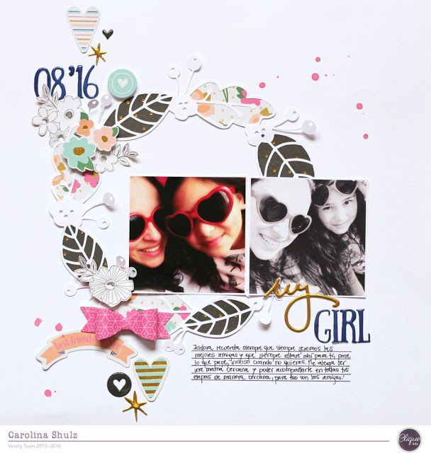 My Girl - Free Cut File by Clique Kits