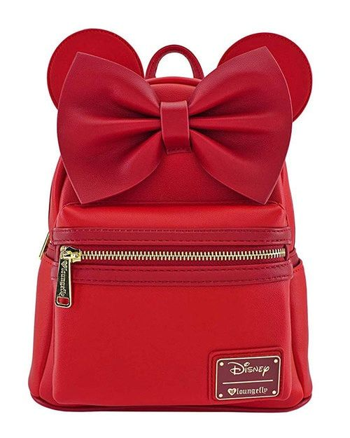 Loungefly x Disney s Minnie Mouse Mini Backpack  43da6b11a7a39