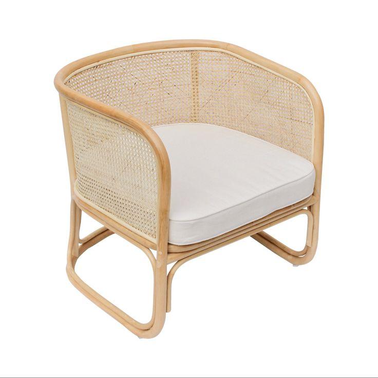 Joplin lounger wicker lounge chair rattan lounge chair