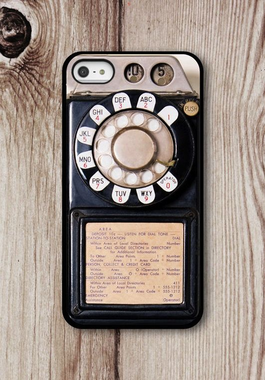 Payphone iPhone 5 Case (LOVE this - wish it had an android cousin)