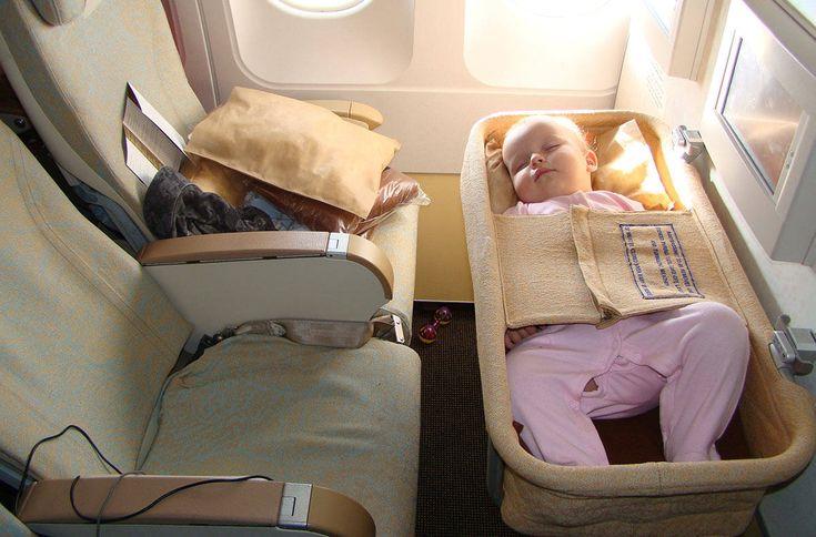 Правила безопасности младенцев в самолете - Здоровые дети