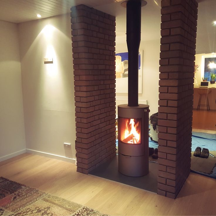 Rais Viva 100 in Nickel with rotating function to provide a 360 degree view. http://northmillstoves.co.uk/