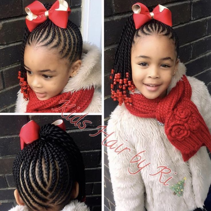 Christmas natural hairstyles for kids. Holiday hair Shop www.naturalhairshop.com for hair accessories View our blog www.naturalhairkids.com for hair care info