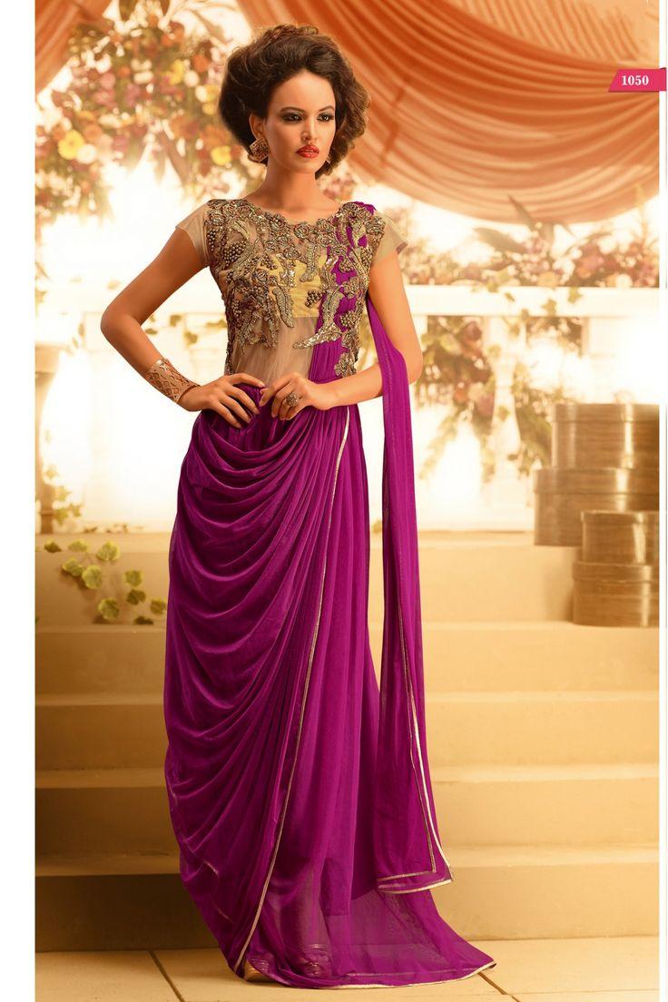 Go gorgeous this wedding season with Pretty Gowns Shop now, Purple @ http://zohraa.com/purple-net-wedding-gown-z1783p1050-16.html sku : 66640 Rs. 5,799  #gowns #weddinggowns #gownsonline #wedding