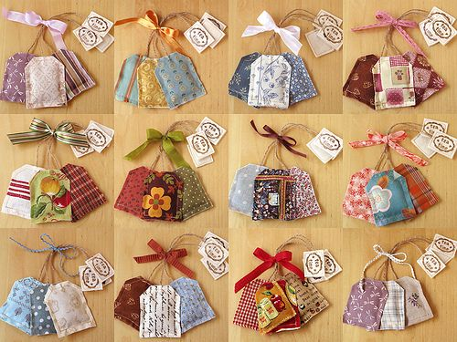 Lavender Teabag Sachets by PatchworkPottery, via Flickr