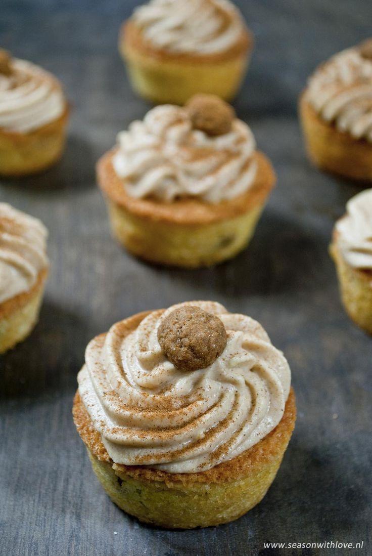 Kruidnoten cupcakes - Season with love