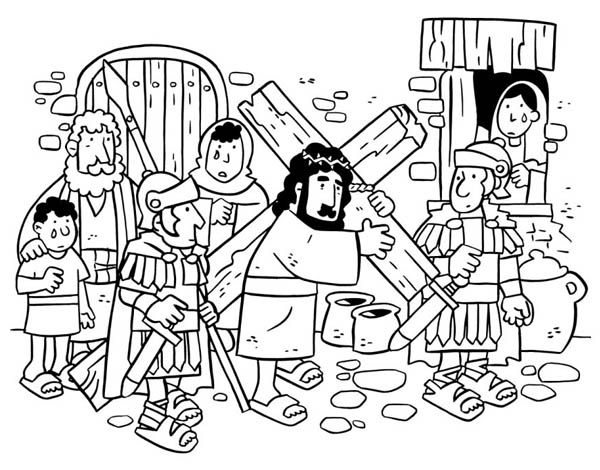190 best p ques images on pinterest sunday school bible for Coloring pages of jesus on the cross