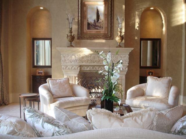 Formal living room.  Highcroft Dr, Naples, FL