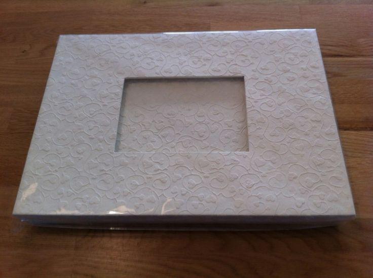 receptieboek th 439 witte hartjes uitvoering.