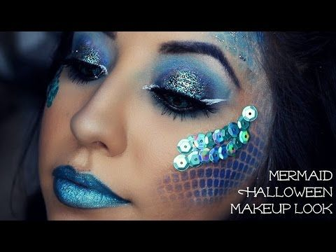 Halloween Tutorial   Mesmerizing Mermaid - YouTube