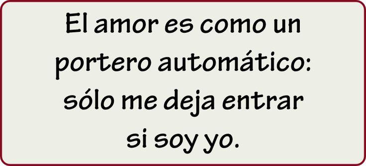 #frases de amor y porteros automáticos