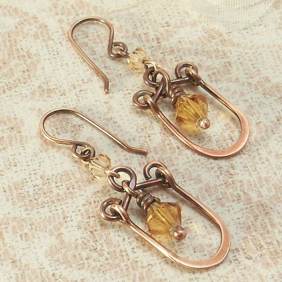 1000 images about wire jewelry ideas tutorials on for Hammered copper jewelry tutorial