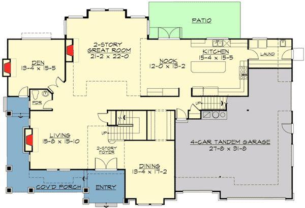 895 migliori immagini floor plans su pinterest piantine for Piani portici anteriori