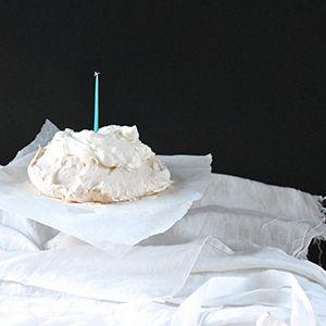 Irish Cream Pavlova by Imen McDonnell.   Sweet and light meringue with smooth Irish cream.