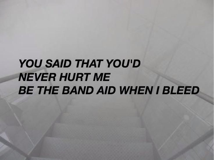 But I guess that band-aid was made of paper cause you never stuck to me #Waitingforyou