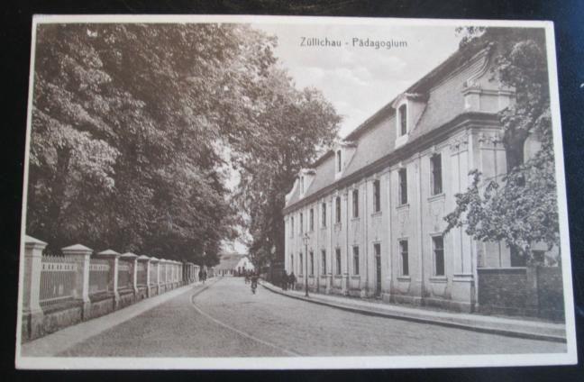 X16 Sulechów. Fragment miasta.