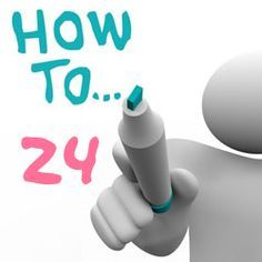 24 day challenge instructions
