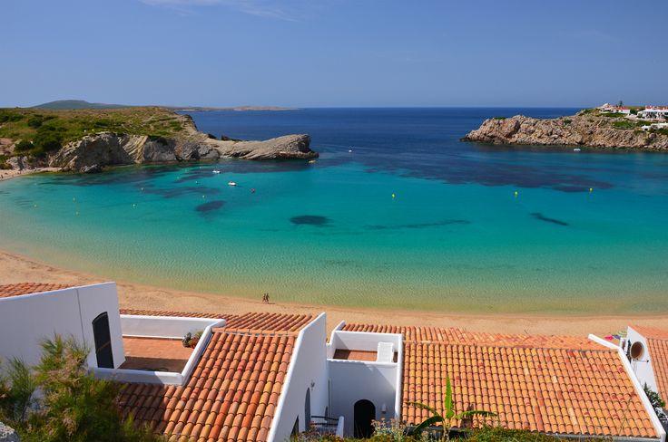 Beautiful bay with sandy beach at Arenal D'en Castell, Menorca, Balearic Islands, Spain by Pawel Kazmierczak on 500px