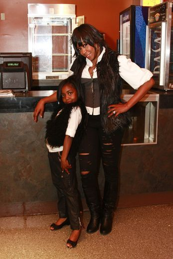 """Oh Lord. Tichina Arnold's daughter looks like see is a mess! ( in a good way). Or as the old people would say she looks like she is """"somethin else""""."""